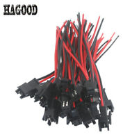 10 pairs 2 Way JST SM 2Pins Plug Male Length 10cm Strip LED for Fit Easy Block