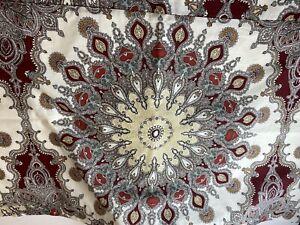 Noble Excellence King Duvet Cover & 2 King Pillow Sham Set (3-Piece) NWOT