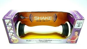 Shake Weight For Women 2.5 Pound Dumbbell White Training W/ Box