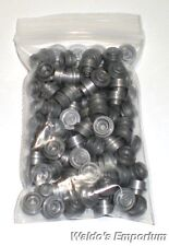 Lego FLAT SILVER 1x1 PLATE ROUND, 4073 Lot of 100, New