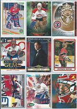 Patrick Roy All Different 25-Lot Inserts & Base Cards w/Hi End All Montreal  #1