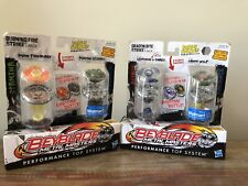 Beyblade Metal Masters 2 Pack Lot Of 2 Burn Fireblaze Earth Wolf And More!