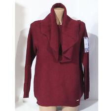 Maglia Influence donna maglione collo ampio viscosa bordeaux M L