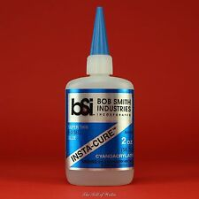 "Bob Smith (BSI) ""INSTA-CURE"" Thin CA Glue - 2 oz Bottle Cyanoacrylate Adhesive"