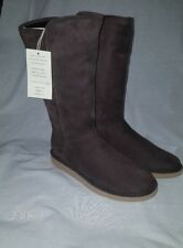 6711d702a UGG COLLECTION WOMEN'S ABREE BOOTS TALL ESPRESSO ...