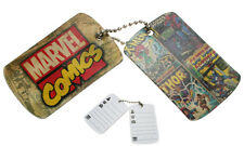 Marvel Comics - Luggage Bag Tags X 2 / Fridge Magnets - SALE 75% DISCOUNT
