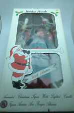 Vintage Holiday Friends Royal Collection Animated Christmas Doll appears NEW! 1