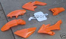 Orange Fairing Body Shell Panels Parts For TaoTao DB10 DB14 110cc Dirt Pit Bikes