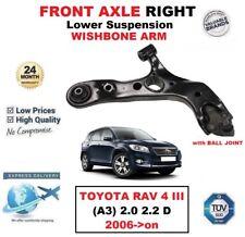 VORDERACHSE RECHTS unteren Querlenker für Toyota RAV4 III (A3) 2.0 2.2 D 2006-
