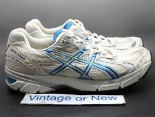 Women's Asics Gel-1160 White Blue Yellow Running Shoes T0J8N sz 10