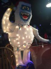 Bumble the Abominable Snowman Rudolf the Red Nose Reindeer Christmas figure 5ft