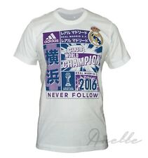 adidas REAL MADRID New Men's T-Shirt OFFICIAL LICENSED PRODUCT Short Sleeve BNWT