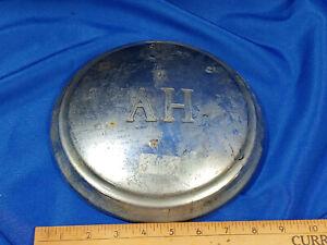 """Vintage Austin Healey Sprite Dog Dish Center Hub Cap 8.5"""" AH 1959-1962 OEM Moon"""