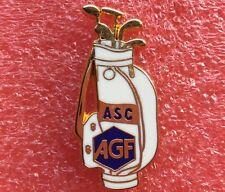 Pins SAC DE CLUB DE GOLF CADDIE BLANC ASC Sponsor AGF