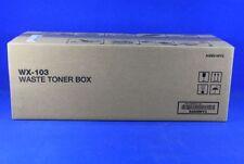 Genuine Konica Minolta WX-103 Waste Toner - A4NN-WY3 - Bizhub C554e BRAND NEW