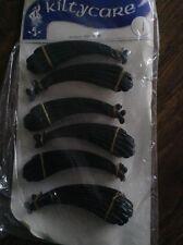 OLD RETRO 80s VINTAGE SHOP DISPLAY wholesale job lot HAIR BANANA CLIPS SLIDES 12