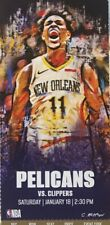 New Orleans Pelicans vs Los Angeles Clippers Ticket Stub 1/18/20 Zion Kawhi