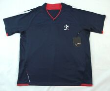 Ralph Lauren RLX Blue Breathable V-neck Sports Shirt S BNWT 100% Authentic
