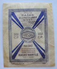 1930s Europe Germany Unused HASAG FABRIC MANTLE POLAR PRESSURE LAMP