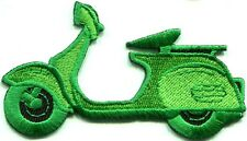 Motor scooter motorcycle cycle bike motorbike applique iron-on patch new S-371