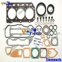3TN84L 3TNA84 3TNB84 3D84N-2C overhaul gasket kit set for Yanmar Komatsu engine