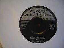 "THE RONDELS - Back Beat No. 1 / Shades of Green 7"" London Records 1961"
