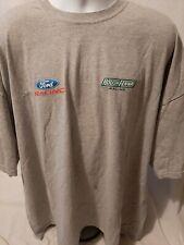 Roush Fenway Racing Ford Racing Team Issued 5XL T-shirt Newman Buescher NASCAR