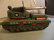 Flakpanzer USA M57 Blech Made in Japan by Yone.