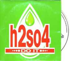 H2SO4 - Do It - CDS - 1996 - Eurohouse 2TR Cardsleeve