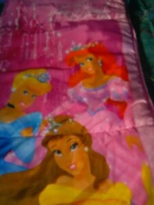 Disney Princesses Youth Kids Children's / child Sleeping Bag ~*~ EXCELLENT