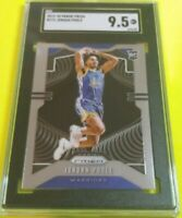 2019 Panini Prizm Jordan Poole ROOKIE  Card #272 SGC 9.5 MINT+