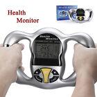 Handheld Digital Body Fat Health Tester Monitor Analyzer BMI Meter Calculator