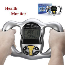 Handheld Digital Body Fat Health Tester Monitor Analyzer BMI Meter Calculator US