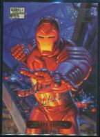 1994 Marvel Masterpieces Gold Signature Trading Card #56 Iron Man