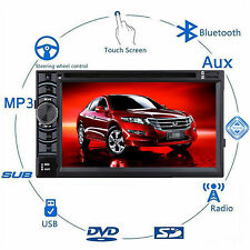 For Honda Accord Civic CR-V Car Stereo Radio FM/USB/SD CD DVD IN Dash Bluetooth