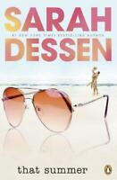 That Summer by Sarah Dessen, Very Good Used Book (Paperback) FREE & FAST Deliver