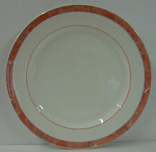 Villeroy & Boch BEAULIEU Salad Plate SALMON  MARBLE BORDER More Items Available