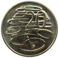 (V27) - Australien Australia - 20 Cents 1980 - Platypus Schnabeltier XF - KM# 66