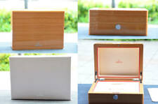 Authentic Omega New Style Solid Wood Lacquered Watch Box from JP Free Ship
