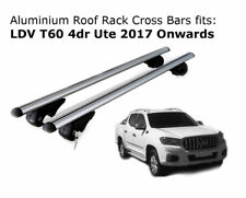 Aluminium Roof Rack Cross Bars fits LDV T60 with roof rails 2017 Onwards
