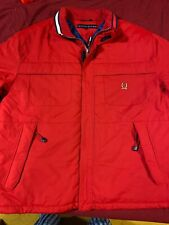 2001 TOMMY HILFIGER  WINTER JACKET XL RED WITH VINTAGE CREST