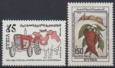 Syrien Syria 1985 ** Mi.1619/20 Landwitschaft Agriculture Pepperoni [sy598]