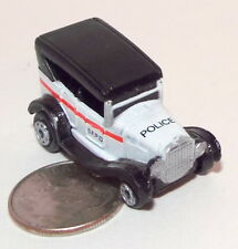Small Micro Machine plastic Ford Model T Police Car marked SFPD