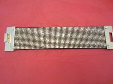 EXPRESS RHINESTONE CHAIN TURNLOCK BRACELET Crystal SPARKLE BLING NEW JEWELS