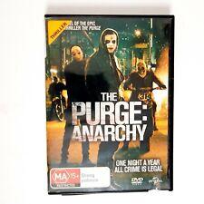 The Purge Anarchy Movie DVD Region 4 AUS Free Postage - Thriller Action