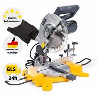 Kapp- und Gehrungssäge Zugsäge Laser Kreissäge 2100W Sägeblatt 210mm Holz Säge