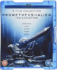 Prometheus to Alien: The Evolution Box Set (Blu-ray; 8-Disc Set) BRAND NEW!!