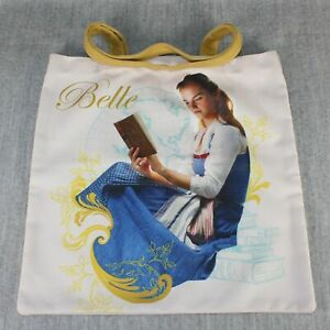 DISNEY BEAUTY and the BEAST Emma Watson Belle Cream Tote Bag Live Action Film
