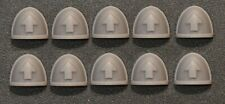 Warhammer 40,000 - Tactical Squad Space Marine Shoulder Pads x 10 - Custom Made