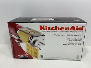 KitchenAid Model KRAV Stand Mixer Ravioli Maker Attachment, NEW!